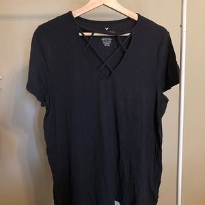American Eagle Outfitters Ribbed Shirt